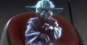 Yoda iPhone hologram Apps Appwriter